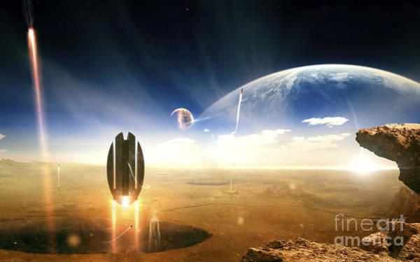 Digital Art - Idea Taken From Star Trek. The Project by Tobias Roetsch