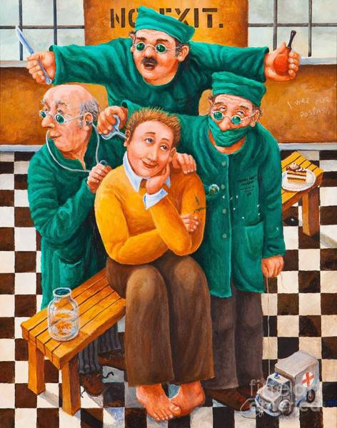 Painting - Idiot Savant by Igor Postash