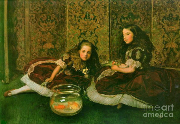 Wall Art - Photograph - Idle Sisters 1864 by Padre Art