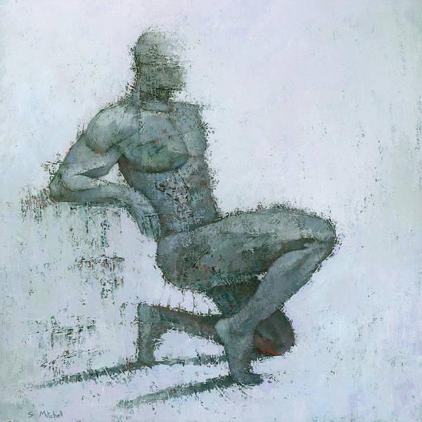 Wall Art - Painting - Idrium by Steve Mitchell