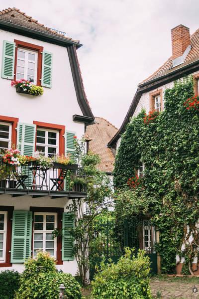 Wall Art - Photograph - Idyllic Architecture Heidelberg by Pati Photography