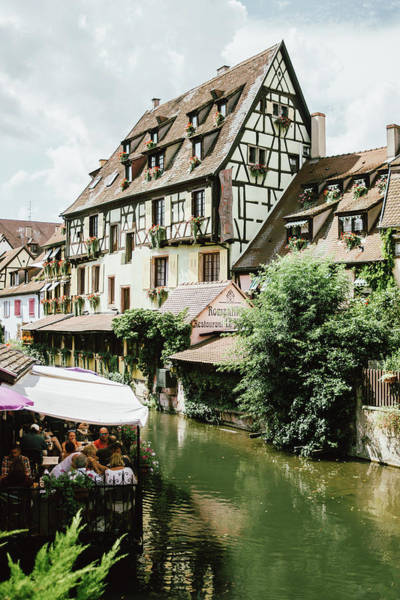 Wall Art - Photograph - Idyllic Village Colmar In France by Pati Photography