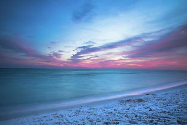 Destin Photograph - If By Sea - Sunset Over Emerald Coast Near Destin Florida by Southern Plains Photography