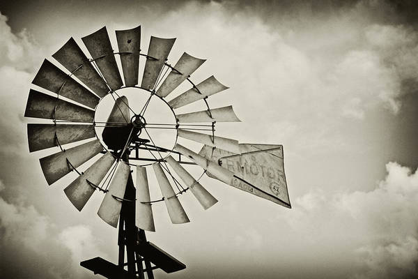 Wall Art - Photograph - If Windmills Could Talk by Tony Grider