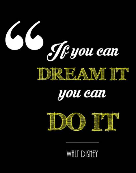 Do It Yourself Digital Art - If You Can Dream It You Can Do It by Khaleel Ulla Khan