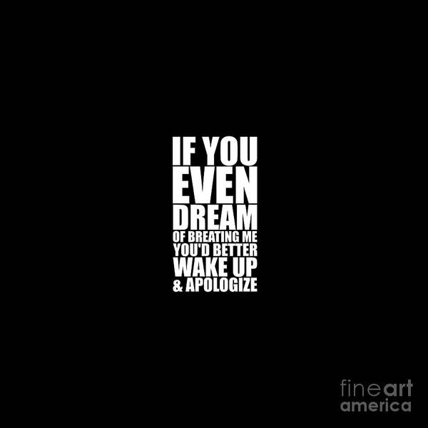 I Phone Case Mixed Media - If You Even Dream - Muhammad Ali by Maria Christi