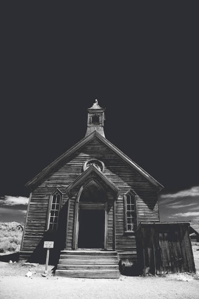 Bodie Ghost Town Wall Art - Photograph - If You Should Pass Through These Doors by Laurie Search