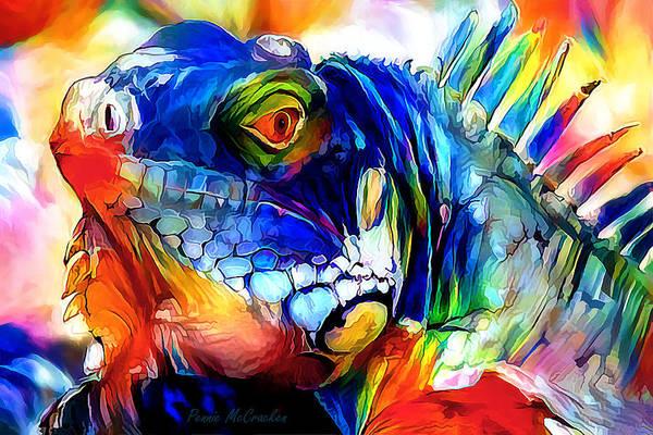 Digital Art - Iggy 2 by Pennie McCracken