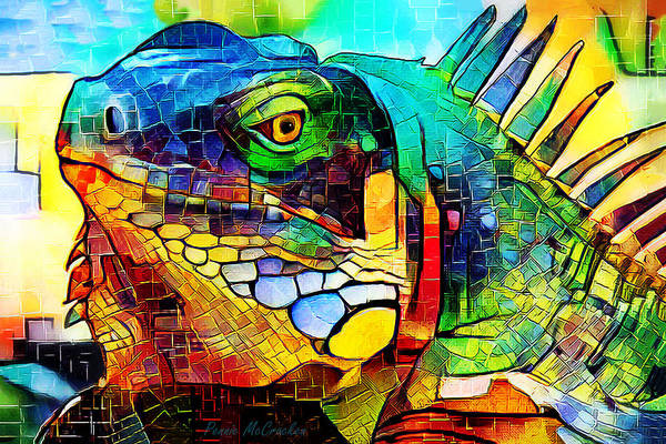 Digital Art - Iggy by Pennie McCracken