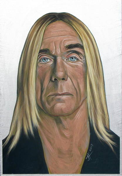 Painting - Iggy Pop 2 by Jovana Kolic
