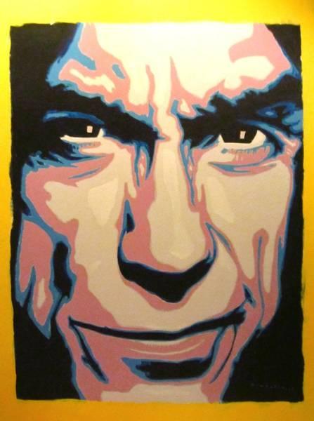 Iggy Pop Painting - Iggy Pop by David Fontaine Radden