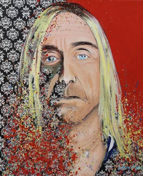 Iggy Pop Painting - Iggy Pop by Dino Derrache