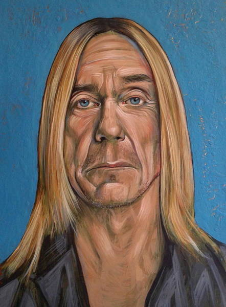 Painting - Iggy Pop by Jovana Kolic