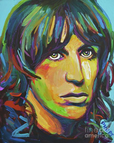 Iggy Pop Painting - Iggy Pop by Robert Phelps