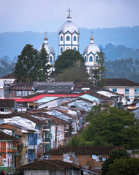 Photograph - Iglesia Maria Inmaculada Filandia Quindio Colombia by Adam Rainoff