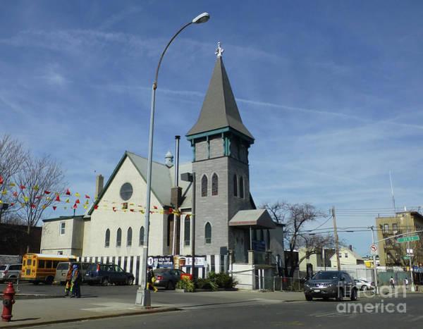 Photograph - Iglesia Metodista Unida Church by Steven Spak