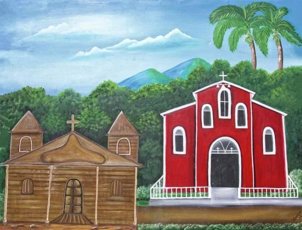 Painting - Iglesias by Alice Gipson