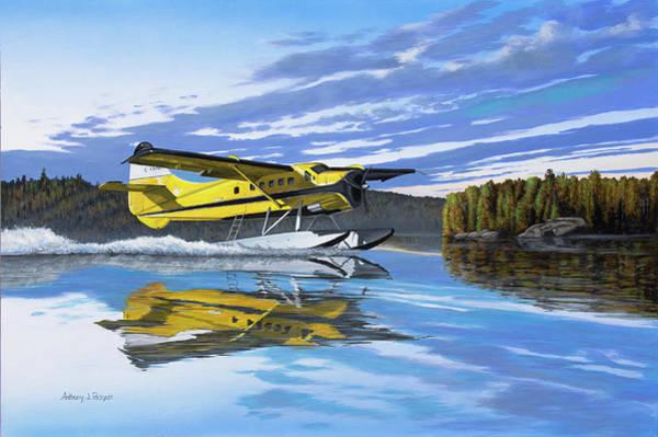 Painting - Ignace Adventure by Anthony J Padgett
