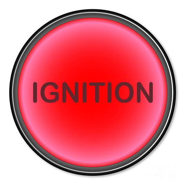 Detonation Digital Art - Ignition Button by Bigalbaloo Stock