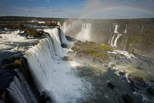 Photograph - Upper Iguassu Falls by Aivar Mikko
