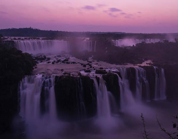 Photograph - Iguazu Sunset In Violet by Alex Lapidus