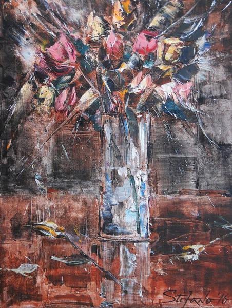 Painting - Ikebana Iv by Stefano Popovski