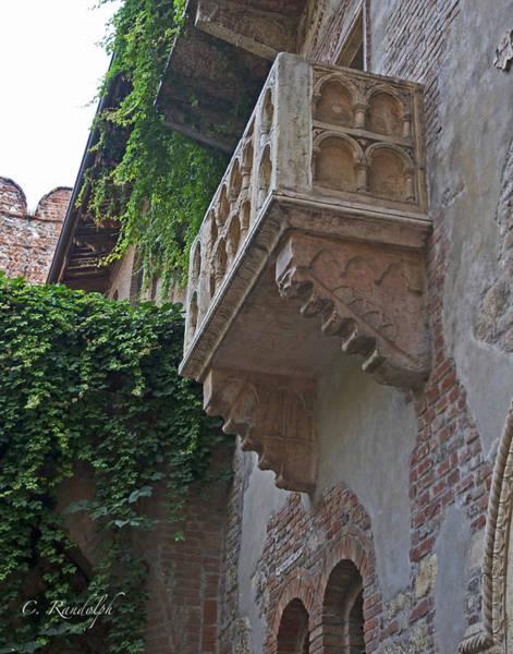 Romeo And Juliet Photograph - Il Balcone De Giulietta by Cheri Randolph