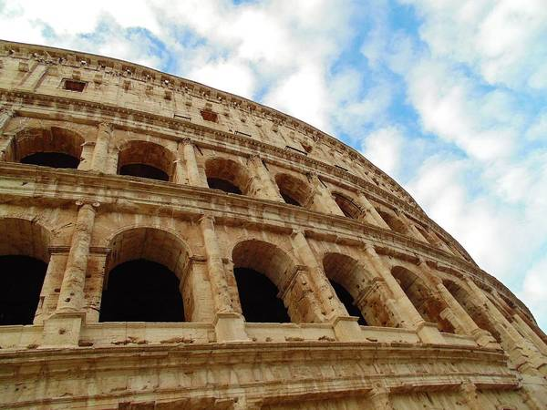 Photograph - Il Colosseo by Michelle Dallocchio