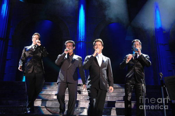 Photograph - Il Divo by Jenny Potter
