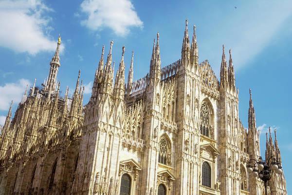 Duomo Photograph - Il Duomo Milan Italy by Joan Carroll