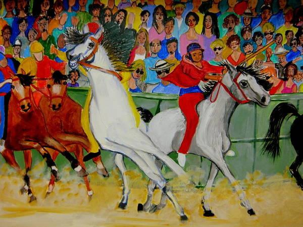 Painting - Il Palio Di Sienna by Rusty Gladdish