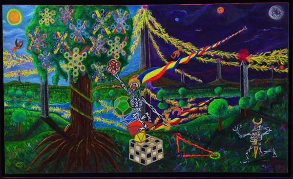 Painting - Il Paradiso Il Modello Della Genesi by Rufus J Jhonson