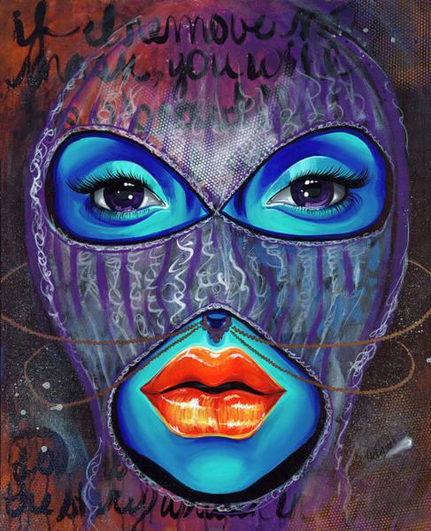 Wall Art - Painting - ILL by Aramis Hamer
