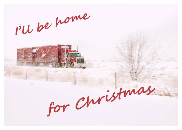 Wall Art - Photograph - I'll Be Home For Christmas 2 by Theresa Tahara