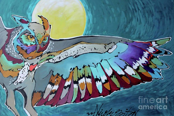 Painting - I'll Fly Away by Nicole Gaitan