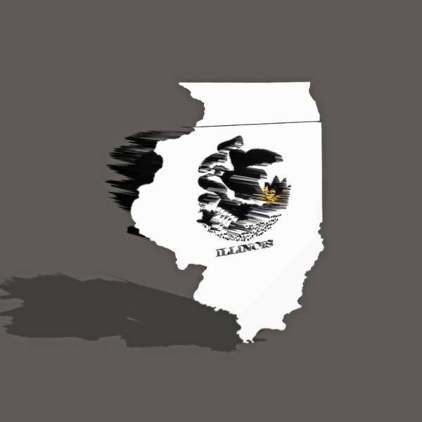Prairie View Digital Art - Illinois 6a by Brian Reaves