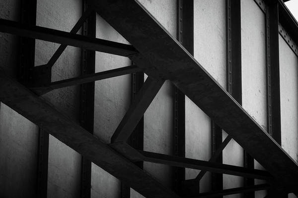 Photograph - Illinois Terminal Bridge by Matthew Chapman