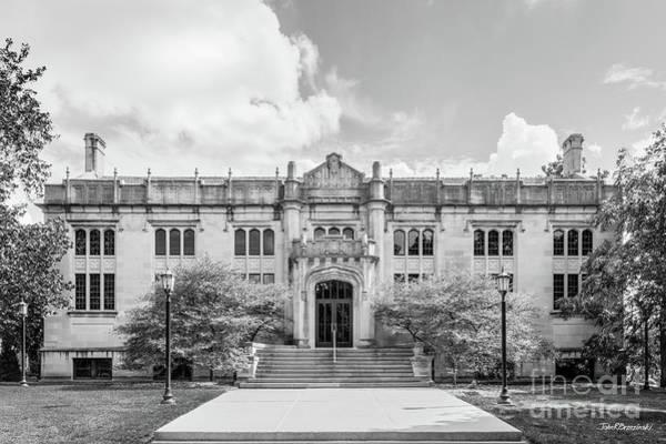 Photograph - Illinois Wesleyan University Buck Library by University Icons