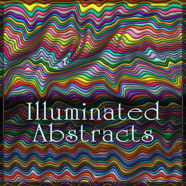 Digital Art - Illuminated Abstracts by Becky Titus