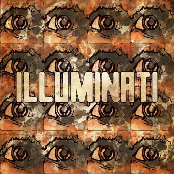 Society Digital Art - Illuminati Eyes By Mb And Rt by Raphael Terra