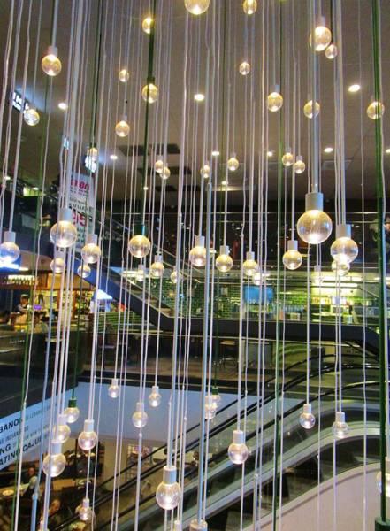 Photograph -  Illumination  Installation by Rosita Larsson