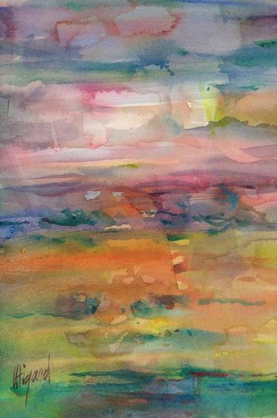 Painting - Illusional Landscape by Carolyn Utigard Thomas