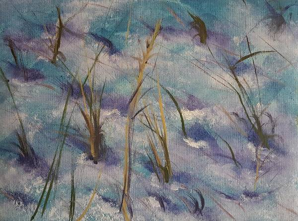 Painting - Illusions Cast By Shadows Of Time   4.2017 by Cheryl Nancy Ann Gordon