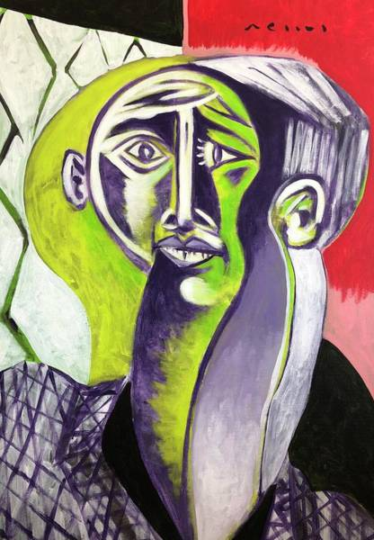 Wall Art - Painting - Illusions Of Man No 2  by Mark M Mellon