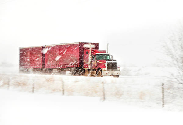 Freightliner Wall Art - Photograph - I'm Coming Home by Theresa Tahara