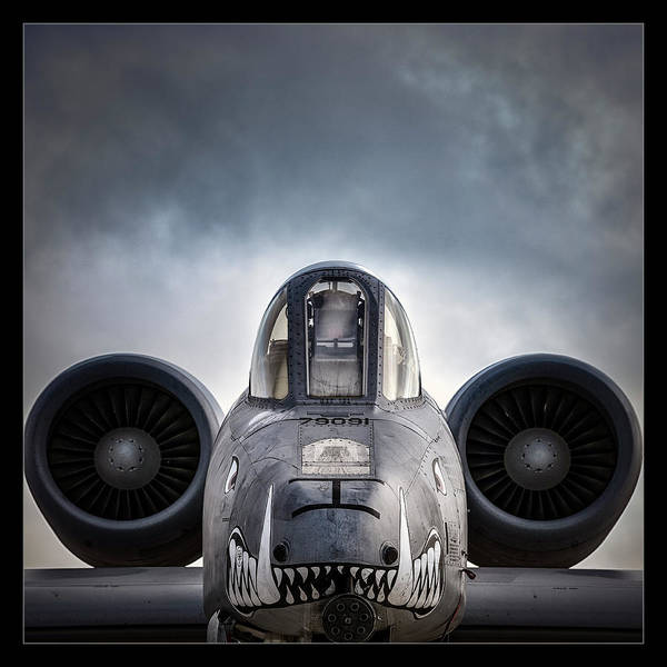 Military Air Base Photograph - I'm Hungry by Robert Fawcett