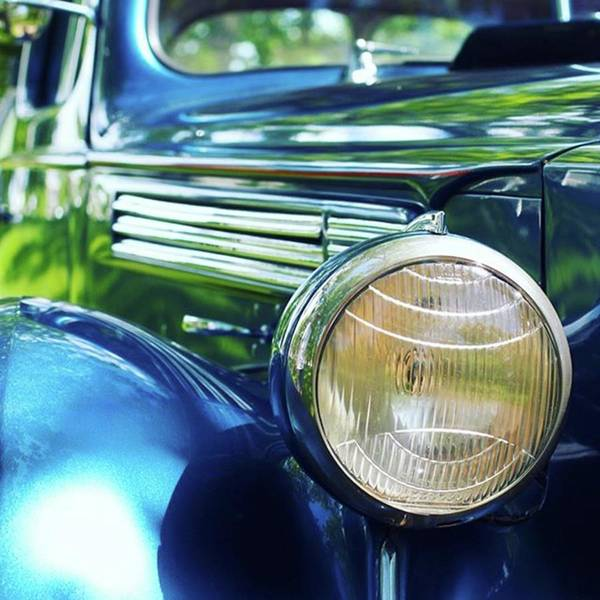 Automobile Photograph - Vintage Packard by Heidi Hermes