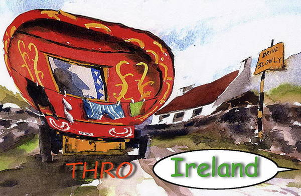 Painting - Images Of Ireland by Val Byrne