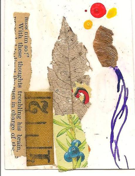 Spiritual Practice Mixed Media - Imaginal Trading Card 090601 by Daniel Mack