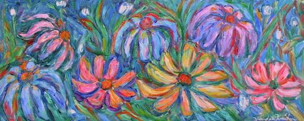 Painting - Imaginary Flowers by Kendall Kessler